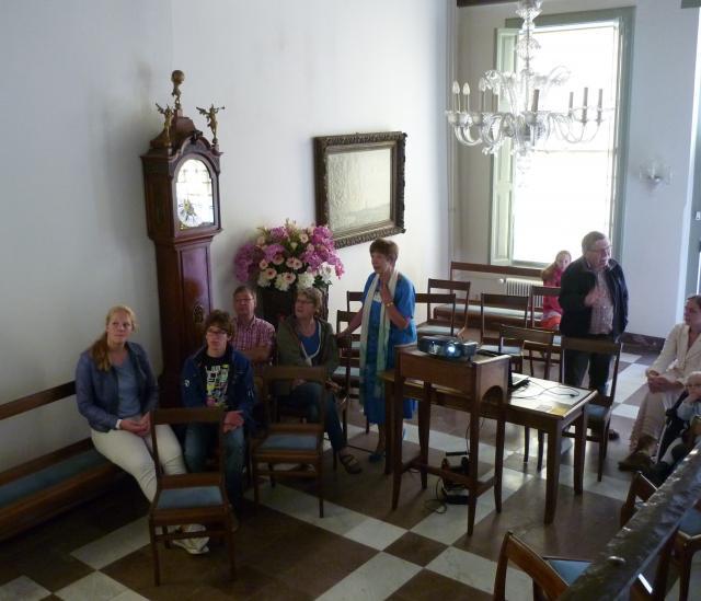 Overhandiging Gouden Sleutel van het Koningshuis aan HVOR