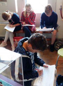 Leerlingen groep 4 en de virtuele wereld